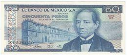 México 50 Pesos 27-1-1981 Pick 73 Serie KZ UNC - México