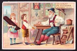 CHROMO Chocolat SUCHARD   +/- 1892  Serie 27   Contes De Fées  Sorcière  Hânsel Und Gretel    Trade Cards Witch - Suchard