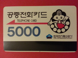 Korea Telecommunication Authority 5000 Verso Instructions - Korea, South