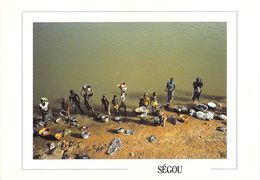 Afrique - MALI SEGOU (1) Vie Quotidienne Sur Le Fleuve Niger  (Sacko Moussa-007 Photos Jean Luc MANAUD * - Mali
