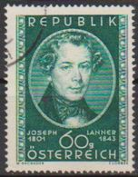 Österreich 1951 Nr.964  O Gest. 150.Geb.Joseph Lanner ( 526/1 ) Günstige Versandkosten - 1945-.... 2a Repubblica