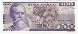 Mexico 100 Pesos 3-9-1981 Pick 74.b Serie TX UNC - México