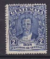 Guatemala 1929 Mi. 222     2 C. Präsident J. Rufino Barrios - Guatemala