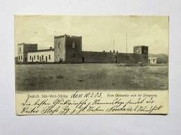 C.P.A. Namibia, Deutsch Süd-West Afrika  Feste Okahandja Nach Der Belagerung, 1905 - Namibie