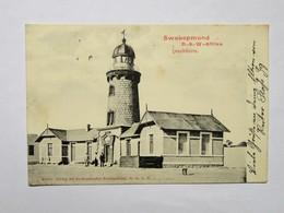 C.P.A. Namibia, Deutsch Süd-West Afrika  SWAKOPMUND , Leuchtturm, 1905 - Namibie