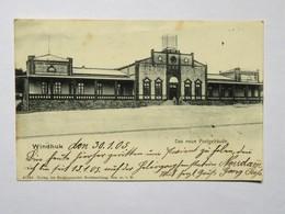 C.P.A. Namibia, Deutsch Süd-West Afrika  WINDHUK , Das Neue Postgebäude, 1905 - Namibie