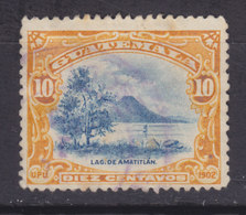 Guatemala 1902 Mi. 115     10 C. Amatitlán-See - Guatemala