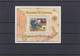 Samoa   $2 Australian Bi-Centenary Souvenir Sheet MNH/**   (H37) - American Samoa