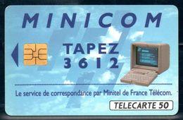 C222 / France F362 3612 MINICOM 2 50U-SO3 1993 - France
