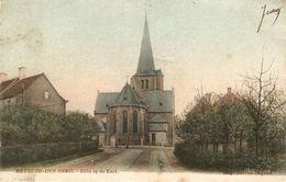 Heyst-op-den-Berg / Heist-op-den-berg : Zicht Op De Kerk ( Oude Kleurkaart ) - Heist-op-den-Berg
