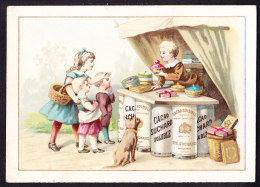 CHROMO Chocolat SUCHARD   +/- 1892  Serie 28  Scènes De Genre           Trade Card - Suchard