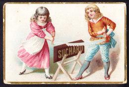 CHROMO Chocolat SUCHARD   +/- 1892    Serie 29     Scènes De Genre     Trade Card - Suchard