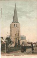 Heyst-op-den-Berg / Heist-op-den-berg : Bergplaats Met Kerk ( Oude Kleurkaart ) - Heist-op-den-Berg