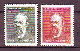 Bohemia And Moravia - 1944 The 60th Anniversary Of The Death Of Friedrich Smetana, 1824-1884 2v Mnh - Nuevos