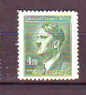 Bohemia And Moravia - 1945 Adolf Hitler, 1889-1945 1v Mnh - Bohemia Y Moravia