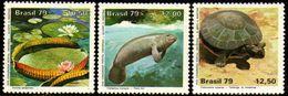 Brasil C 1091/93 Parque Nacional Da Amazônia Animais Diversos 1979 NNN - Brasilien