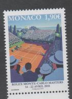 MONACO , 2018, MNH, TENNIS, MONTE CARLO ROLEX MASTERS, 1v - Tennis