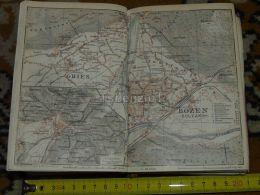 Gries Bozen Bolzano Spieleck Rotwand  Italy Map Karte Mappa 1930 - Carte Geographique