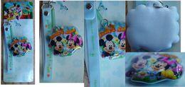 "Disney : Decorative Strap "" Mickey & Minnie "" - Charms"