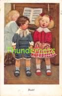CPA DESSIN ENFANT ILLUSTRATEUR SUSAN PEARSE M M VIENNE MUNK 713 ARTIST SIGNED CHILDREN ( PLI - CREASE ) - Vienne