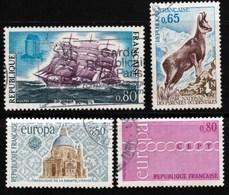 France - Lot De 1971 - Y&T 1674 / 1677 - Cote 3€ - Gebraucht