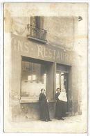 DEVANTURE DE RESTAURANT - Non Située - Restaurants