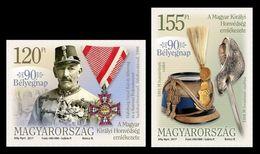 Hungary 2017 Mih. 5932/33 Archduke Joseph Karl Of Austria And Military Attributes MNH ** - Hungría