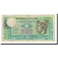 Billet, Italie, 500 Lire, 1976-12-20, KM:95, B+ - [ 2] 1946-… : Repubblica