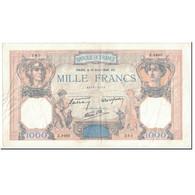 France, 1000 Francs, 1 000 F 1927-1940 ''Cérès Et Mercure'', 1940, 1940-04-18 - 1871-1952 Circulated During XXth