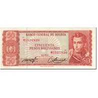 Billet, Bolivie, 50 Pesos Bolivianos, 1962, 1962-07-13, KM:162a, SPL - Bolivie