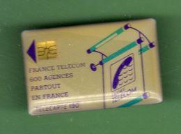 FRANCE TELECOM *** PIN'S TELECARTE *** A033 - France Telecom