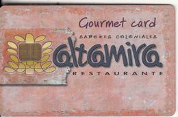 GREECE - Altamira Restaurant, Member Card, Chip P2, Used - Andere Sammlungen