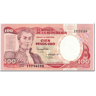Billet, Colombie, 100 Pesos Oro, 1988, 1988-10-12, KM:426c, NEUF - Colombie