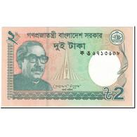 Billet, Bangladesh, 2 Taka, 2001, Undated (2001), KM:52, NEUF - Bangladesh