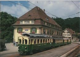 Teufen - St. Gallen-Gais-Appenzell Bahn (SGA) Triebwagen BCFeh 4/4 Nr. 5 - Photo: Markus Strässle - AR Appenzell Rhodes-Extérieures
