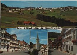 Kurort Schwellbrunn - Multiview - Photo: Gross - AR Appenzell Rhodes-Extérieures