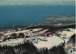 Flugaufnahme Wienacht AR - Blick Zum Bodensee Und Altenrhein Im Winter En Hiver - Flugbild Gross - AR Appenzell Rhodes-Extérieures