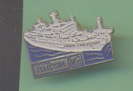 FRANCE TELECOM *** BATEAU LEON THEVENIN *** A033 - France Telecom