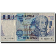 Billet, Italie, 10,000 Lire, 1984, 1984-09-03, KM:112d, B+ - [ 2] 1946-… : République