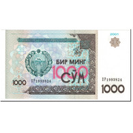 Billet, Uzbekistan, 1000 Sum, 2001, Undated (2001), KM:82, NEUF - Uzbekistan