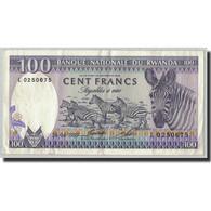 Billet, Rwanda, 100 Francs, 1989, 1989-04-24, KM:19, TTB - Rwanda