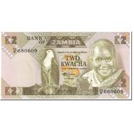 Billet, Zambie, 2 Kwacha, 1980, Undated (1980-1988), KM:24c, NEUF - Zambia