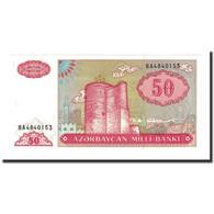 Billet, Azerbaïdjan, 50 Manat, Undated (1993), Undated (1993), KM:17b, NEUF - Azerbaïdjan