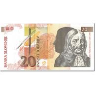 Billet, Slovénie, 20 Tolarjev, 1992, 1992-01-15, KM:12a, SPL+ - Slovénie