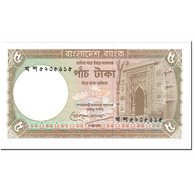 Billet, Bangladesh, 5 Taka, 1993, Undated (1993), KM:25c, NEUF - Bangladesh