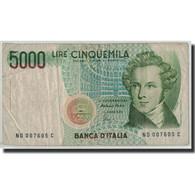 Billet, Italie, 5000 Lire, 1985, 1985-01-04, KM:111c, B - [ 2] 1946-… : République