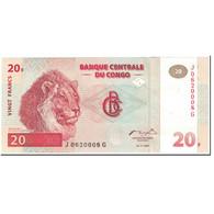Billet, Congo Democratic Republic, 20 Francs, 1997, 1997-11-01, KM:88a, NEUF - Congo