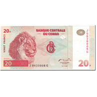 Billet, Congo Democratic Republic, 20 Francs, 1997, 1997-11-01, KM:88a, NEUF - Republic Of Congo (Congo-Brazzaville)