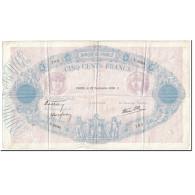 France, 500 Francs, 500 F 1888-1940 ''Bleu Et Rose'', 1938, 1938-09-22, TTB - 1871-1952 Anciens Francs Circulés Au XXème