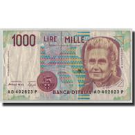 Billet, Italie, 1000 Lire, 1990, 1990-10-03, KM:114b, TB - [ 2] 1946-… : Républic